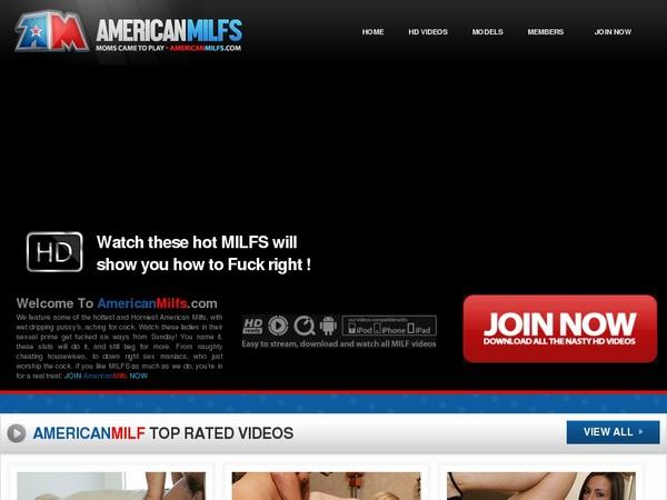 Americanmilfs.com Paysite