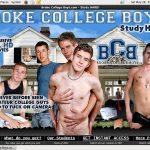 Broke College Boys On Sale
