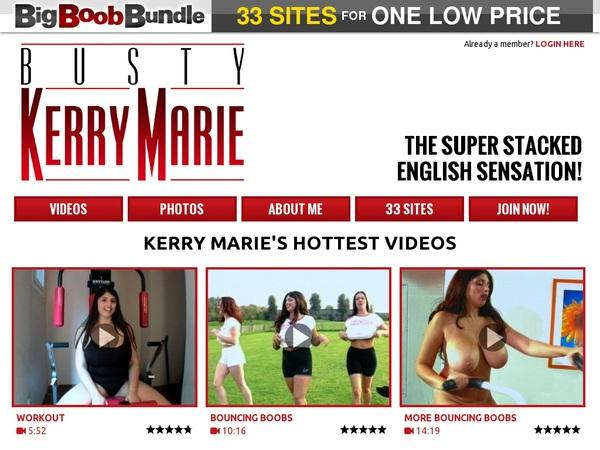 Busty Kerry Marie Renew Password