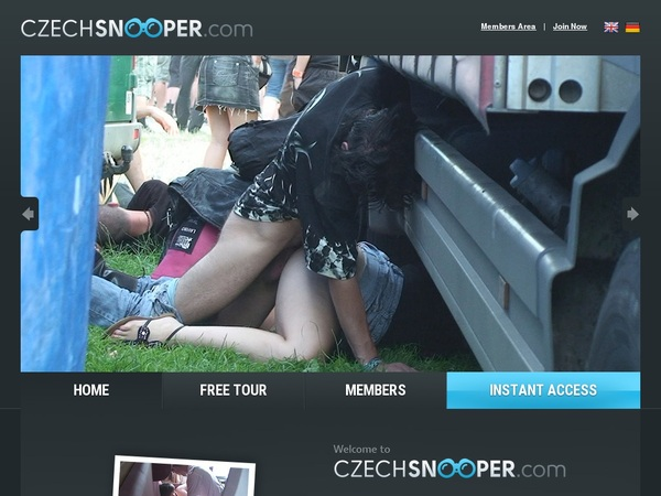 Czechsnooper.com Make Account