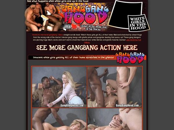 Gang Bang Hood Pussy