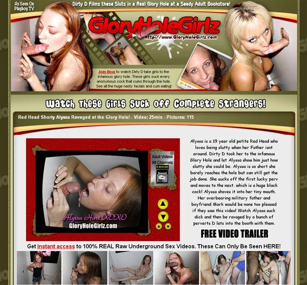 Glory Hole Girlz Cuentas