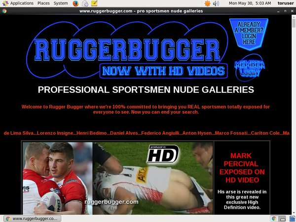 Rugger Bugger With Gift Card