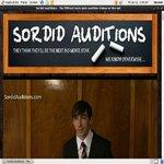 Sordid Auditions V2 Recent