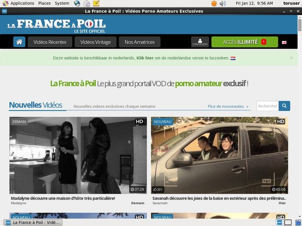 Free La France A Poil Access