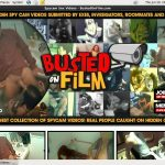 Busted On Film Login Account