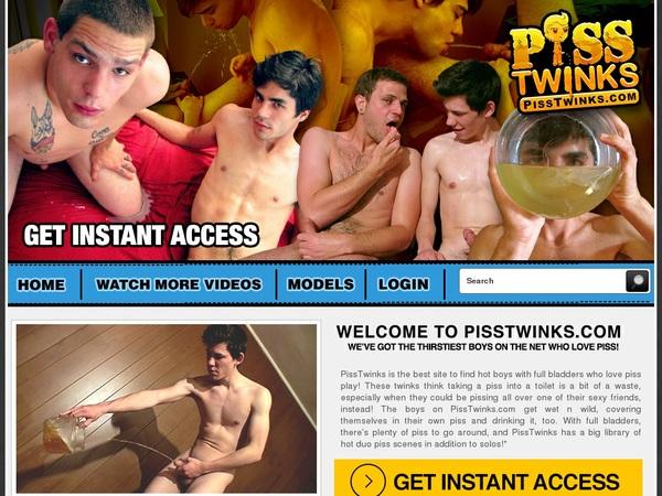 New Pisstwinks.com Password