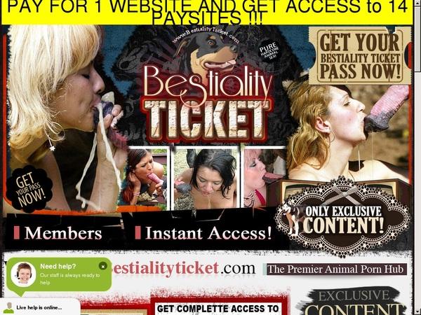 Bestialityticket.com Password Info