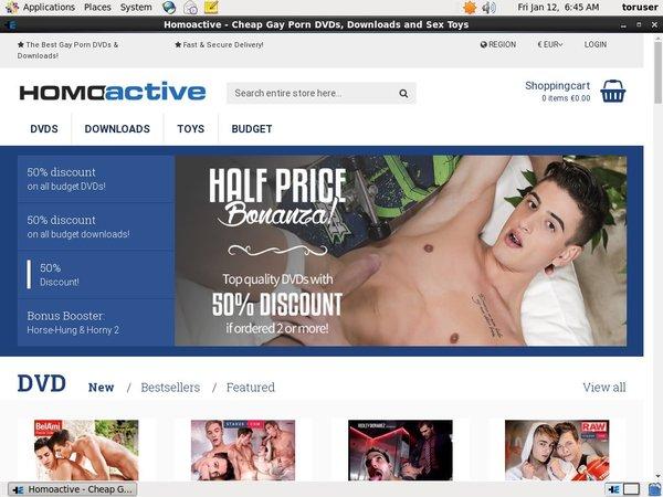 How To Get A Free Homoactive.com Account