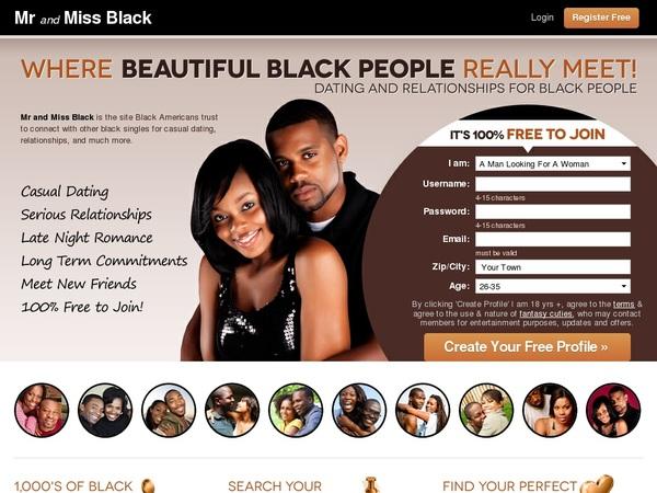 Mr And Miss Black Member