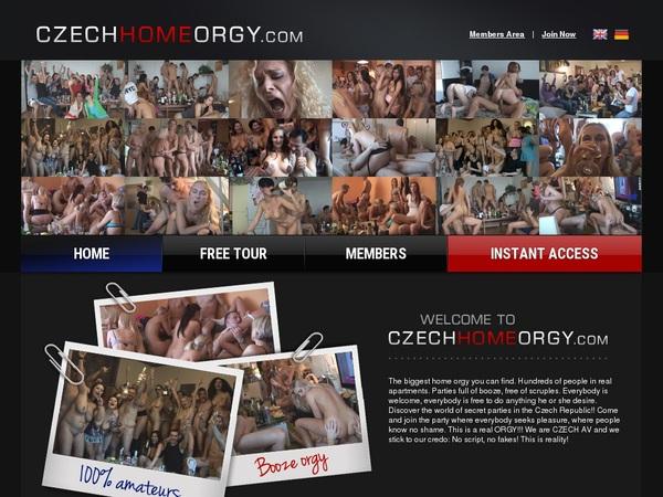 Daily Czech Home Orgy Accounts